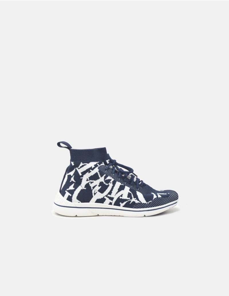 Sneakers_Carolina_Herrera_mujer_azules_blancos_calcetin_1